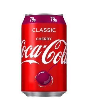M3 Distribution Services Irish Food Wholesaler Coke Cherry PM79p (24x330ml)