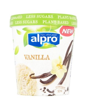 M3 Distribution Alpro Soy and Vanilla Ice Cream 500ml