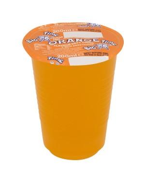 M3 Distribution Services Irish Food Wholesaler Big Time Cup Drink - Orange (24x200ml)