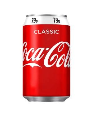 M3 Distribution Services Irish Food Wholesaler Coke Regular PM79p (24x330ml)