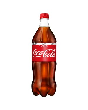 M3 Distribution Services Irish Food Wholesaler Coke Regular Sharesize PM£1.39 (12x1Litres)
