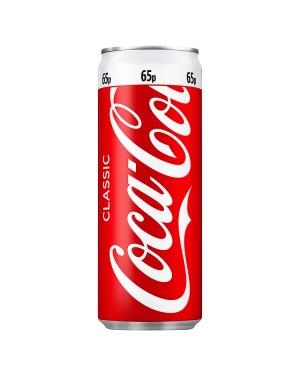 M3 Distribution Services Irish Food Wholesaler Coke Regular PM65p (24x250ml)