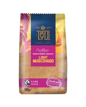 M3 Distribution Bulk Irish Wholesale Tate & Lyle Light Muscovado Cane Sugar 500g