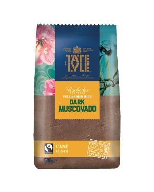 M3 Distribution Bulk Irish Wholesale Tate & Lyle Dark Muscovado Cane Sugar 500g