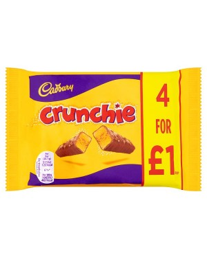 M3 Distribution Services Bulk Food Wholesaler Cadbury Crunchie 4pack PMÃ'ÂÃ