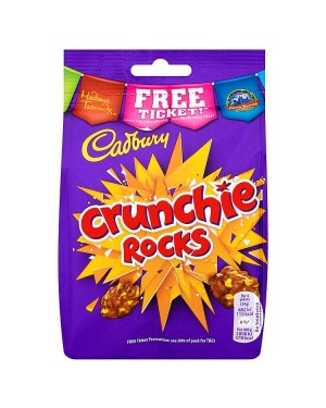 M3 Distribution Services Bulk Food Wholesaler Cadbury Crunchie Rocks Pouch