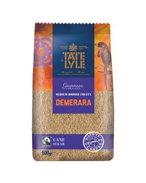 M3 Distribution Bulk Irish Wholesale Tate & Lyle Medium Bodied Demerara Sugar 500g