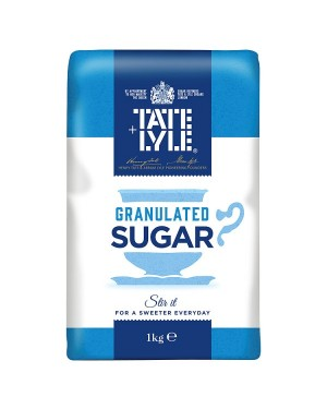 M3 Distribution Bulk Irish Wholesale Tate & Lyle Granulated Sugar 1kg
