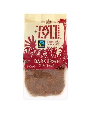 M3 Distribution Bulk Irish Wholesale Tate & Lyle Dark Brown Soft Sugar 500g