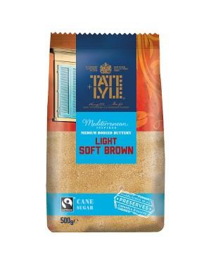 M3 Distribution Bulk Irish Wholesale Tate & Lyle Light Brown Soft Sugar 500g