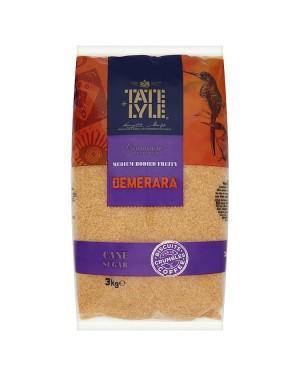 M3 Distribution Bulk Irish Wholesale Tate & Lyle Medium Bodied Demerara Sugar 3kg