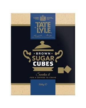 M3 Distribution Bulk Irish Wholesale Tate & Lyle Brown Sugar Cubes 500g