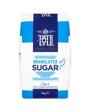 M3 Distribution Bulk Irish Wholesale Tate & Lyle Granulated Sugar 2kg