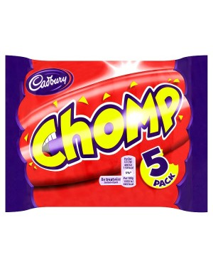 M3 Distribution Services Irish Food Wholesaler Cadbury Chomp Bar 5pack (18x5pack)
