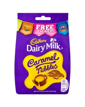 M3 Distribution Services Bulk Food Wholesaler Cadbury Dairy Milk Caramel Nibbles 120g