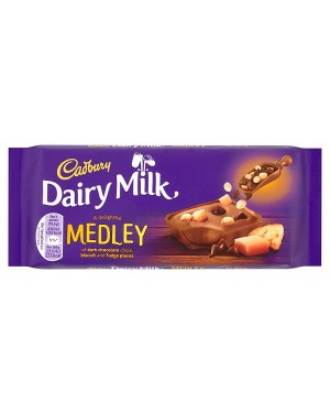 M3 Distribution Services Bulk Food Wholesaler Cadbury Dairy Milk Medley with Fudge
