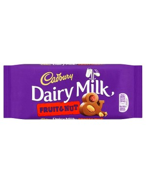 M3 Distribution Services Bulk Food Wholesaler Cadbury Dairy Milk Fruit & Nut 95g