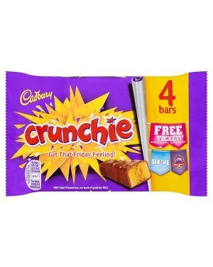 M3 Distribution Services Bulk Food Wholesaler Cadbury Crunchie 4pack
