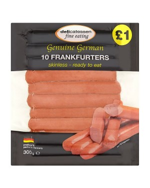 M3 Distribution Services Delicatessan Fine Eating 10 Frankfurters PMÃ'ÂÃÃÂ