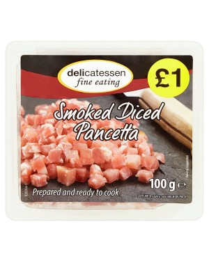 M3 Distribution Services Delicatessan Fine Eating Smoked Diced Pancetta 100g PMÃ'ÂÃ