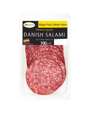 M3 Distribution Services Delicatessan Fine Eating Danish Salami 100g