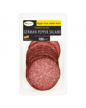 M3 Distribution Services Delicatessan Fine Eating German Salami 100g