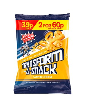 M3 Distribution Irish Wholesale Food Distributor Golden Wonder Transform-a-Snack Super Cheese PM39p