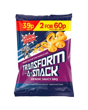 M3 Distribution Irish Wholesale Food Distributor Golden Wonder Transform-a-Snack Hot Saucy BBQ PM39p