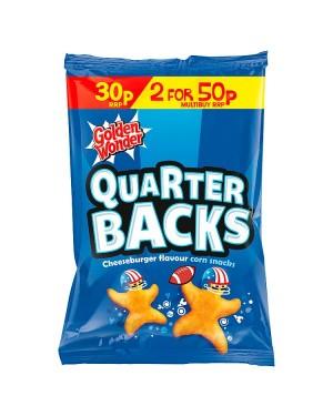 M3 Distribution Irish Wholesale Food Distributor Golden Wonder Quarter Backs Cheeseburger Flavour PM30p