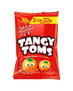 M3 Distribution Irish Wholesale Food Distributor Golden Wonder Tangy Toms Tomato Flavour PM30p