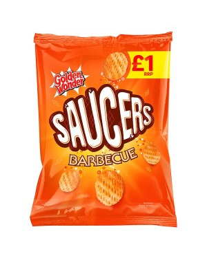 M3 Distribution Irish Wholesale Food Distributor Golden Wonder Saucers BBQ Flavour PmÃ'Ãâ€Ãâ€
