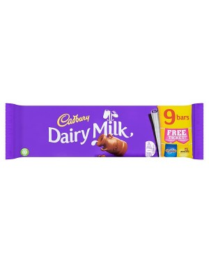 M3 Distribution Services Bulk Food Wholesaler Cadbury Dairy Milk 9 Chocolate Bars