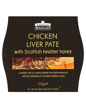 M3 Distribution Services Castle MacLellan Chicken Liver Pate 113g