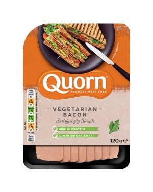 M3 Distribution Bulk Wholesale Food Quorn Vegetarian Bacon Style Slices 120g