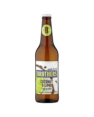 M3 Distribution Wholesale Food Brothers Coconut & Lime (12x500ml)