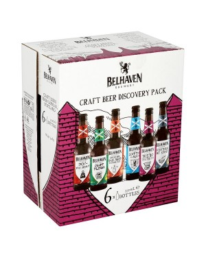 M3 Distribution Belhaven Craft Beer Discovery Pack (6x330ml)