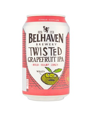 M3 Distribution Belhaven Twisted Grapefruit IPA (12x330ml)