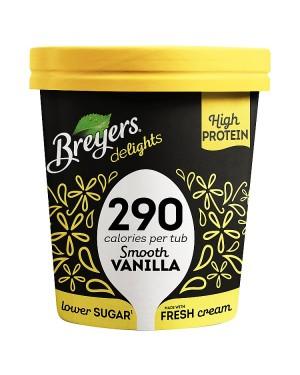 M3 Distribution Services Irish Food Wholesaler Breyers Smooth Vanilla Ice Cream (8x500ml)