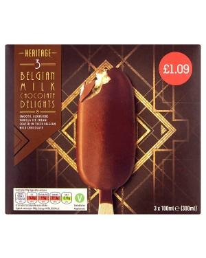 M3 Distribution Services Irish Food Wholesale Heritage Milk Chocolate Delight PMÃ'Â