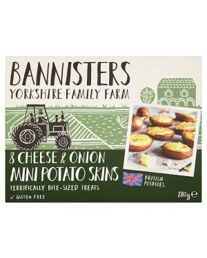 M3 Distribution Services Irish Food Wholesale Ban/Farm 8 Mini Cheese/Onion Potato Skins