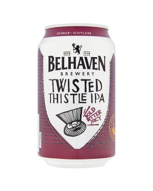 M3 Distribution Belhaven Twisted Thistle IPA (12x330ml)
