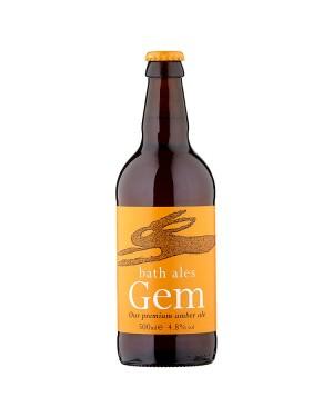 M3 Distribution Services Irish Food Wholesaler Bath Ales Gem Amber Ale (8x500ml)