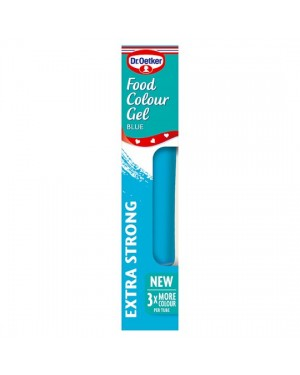 M3 Distribution Services Irish Food Wholesale Dr Oetker Colour Gel - Blue