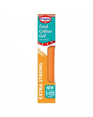 M3 Distribution Services Irish Food Wholesale Dr Oetker Colour Gel - Orange