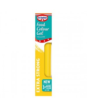 M3 Distribution Services Irish Food Wholesale Dr Oetker Colour Gel - Yellow