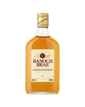 M3 Distribution Services Irish Bulk Food Wholesale Banoch Brae Scotch Whisky (24x35cl)
