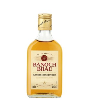 M3 Distribution Services Irish Bulk Food Wholesale Banoch Brae Scotch Whisky (6x20cl)