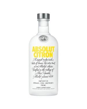 M3 Distribution Services Irish Bulk Food Wholesale Absolut Citron Vodka (6x700ml)