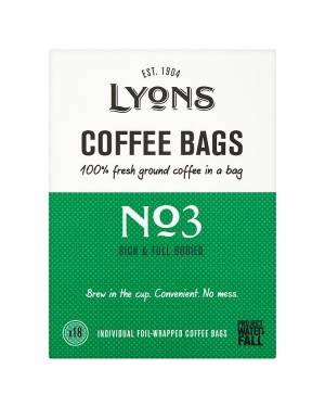 M3 Distribution Services Irish Food Wholesale Lyons Rich Coffee Bags (18)
