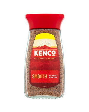 M3 Distribution Services Irish Food Wholesale Kenco Smooth Coffee Granules 100g PMÃ'Ãâ€ÅÂ